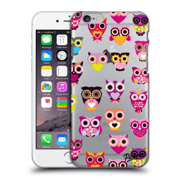 Obal pro Apple iPhone 6/6S - Owls