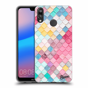 Obal pro Huawei P20 Lite - Colorful roof