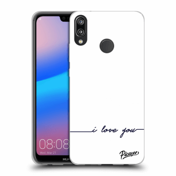 Obal pro Huawei P20 Lite - I love you