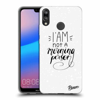 Obal pro Huawei P20 Lite - I am not a morning person
