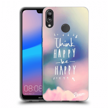Obal pro Huawei P20 Lite - Think happy be happy