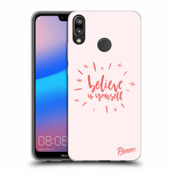 Obal pro Huawei P20 Lite - Believe in yourself