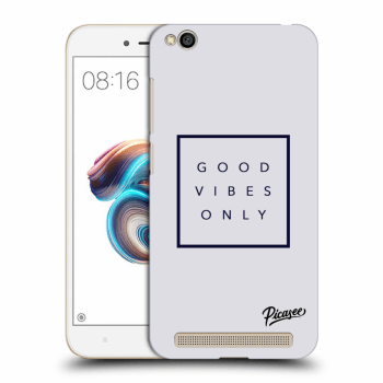 Obal pro Xiaomi Redmi 5A - Good vibes only