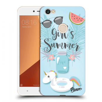 Obal pro Xiaomi Redmi Note 5A Global - Girls Summer