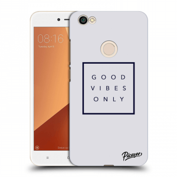 Obal pro Xiaomi Redmi Note 5A Global - Good vibes only