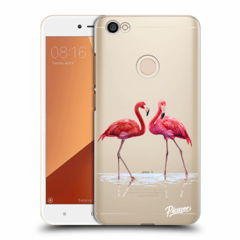 Obal pro Xiaomi Redmi Note 5A Global - Flamingos couple