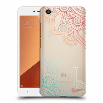 Obal pro Xiaomi Redmi Note 5A Global - Flowers pattern
