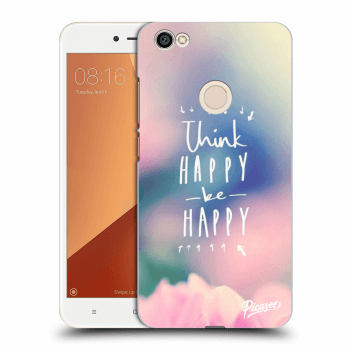 Obal pro Xiaomi Redmi Note 5A Global - Think happy be happy