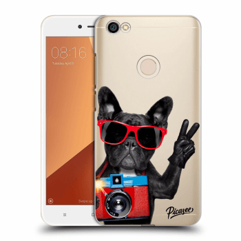 Obal pro Xiaomi Redmi Note 5A Global - French Bulldog
