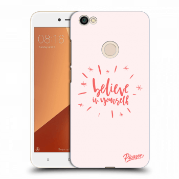 Obal pro Xiaomi Redmi Note 5A Global - Believe in yourself
