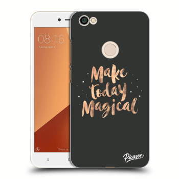Obal pro Xiaomi Redmi Note 5A Global - Make today Magical