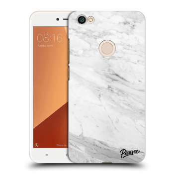 Obal pro Xiaomi Redmi Note 5A Global - White marble