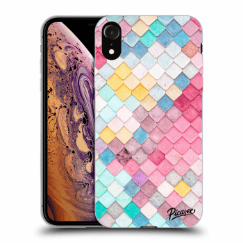 Obal pro Apple iPhone XR - Colorful roof