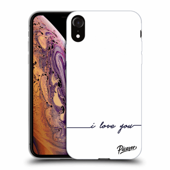 Obal pro Apple iPhone XR - I love you