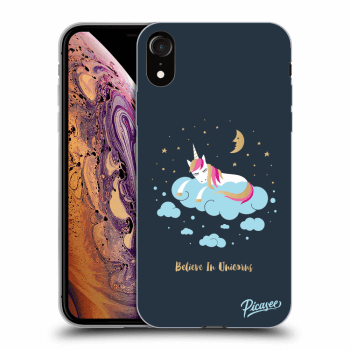 Obal pro Apple iPhone XR - Believe In Unicorns