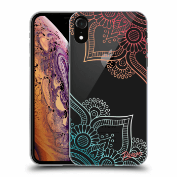 Obal pro Apple iPhone XR - Flowers pattern