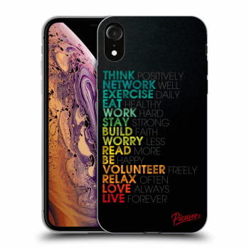 Obal pro Apple iPhone XR - Motto life