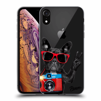 Obal pro Apple iPhone XR - French Bulldog