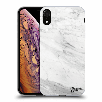 Obal pro Apple iPhone XR - White marble
