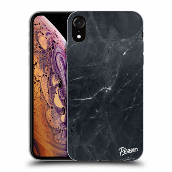 Obal pro Apple iPhone XR - Black marble