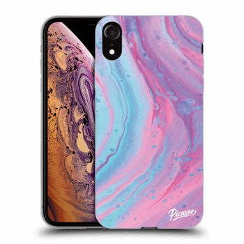Obal pro Apple iPhone XR - Pink liquid