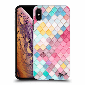 Obal pro Apple iPhone XS Max - Colorful roof