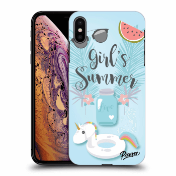 Obal pro Apple iPhone XS Max - Girls Summer