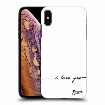 Obal pro Apple iPhone XS Max - I love you