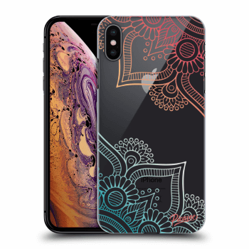Obal pro Apple iPhone XS Max - Flowers pattern
