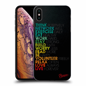 Obal pro Apple iPhone XS Max - Motto life