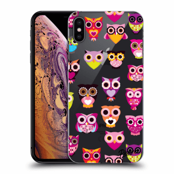 Obal pro Apple iPhone XS Max - Owls