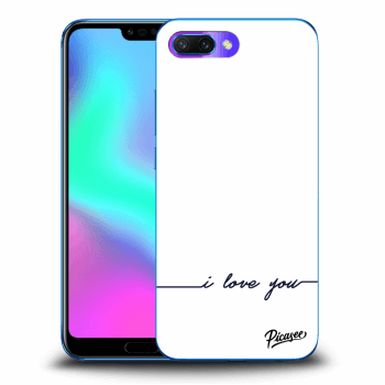 Obal pro Honor 10 - I love you
