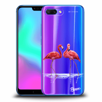 Obal pro Honor 10 - Flamingos couple
