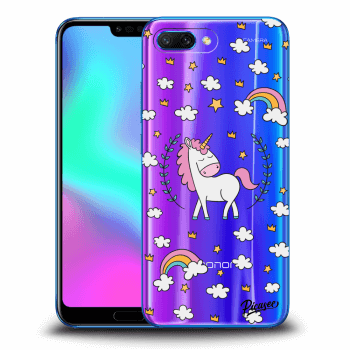 Obal pro Honor 10 - Unicorn star heaven