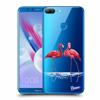 Obal pro Honor 9 Lite - Flamingos couple