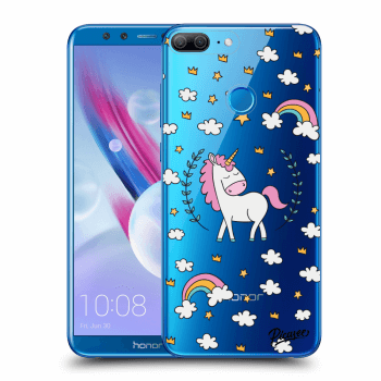 Obal pro Honor 9 Lite - Unicorn star heaven