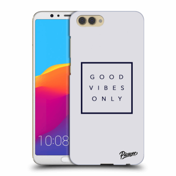 Obal pro Honor View 10 - Good vibes only