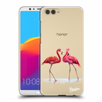 Obal pro Honor View 10 - Flamingos couple