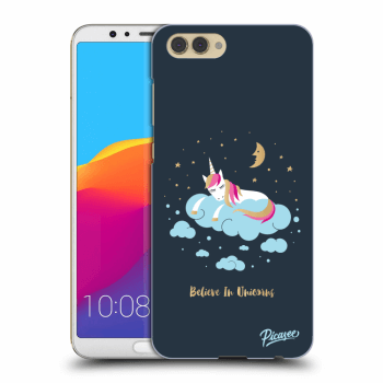 Obal pro Honor View 10 - Believe In Unicorns