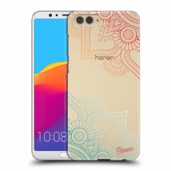 Obal pro Honor View 10 - Flowers pattern