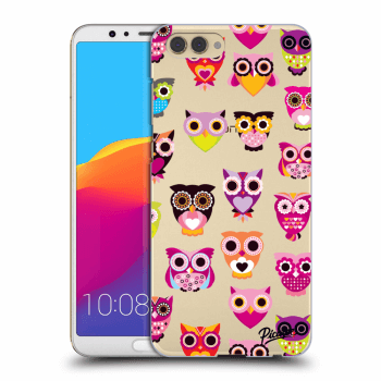 Obal pro Honor View 10 - Owls