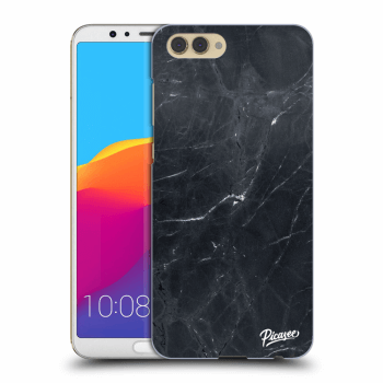 Obal pro Honor View 10 - Black marble
