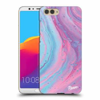 Obal pro Honor View 10 - Pink liquid
