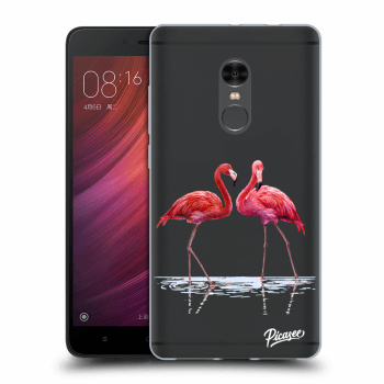 Obal pro Xiaomi Redmi Note 4 Global LTE - Flamingos couple