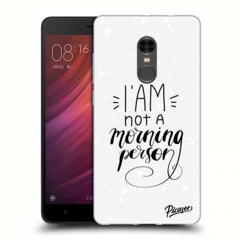 Obal pro Xiaomi Redmi Note 4 Global LTE - I am not a morning person