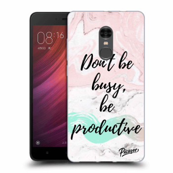 Obal pro Xiaomi Redmi Note 4 Global LTE - Don't be busy, be productive