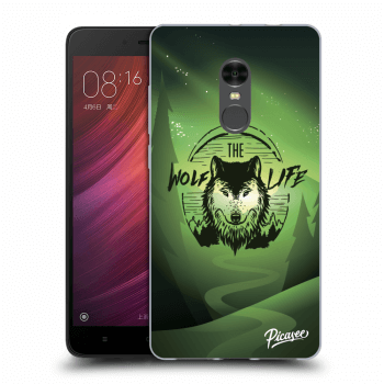 Obal pro Xiaomi Redmi Note 4 Global LTE - Wolf life