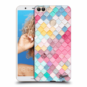 Obal pro Huawei P Smart - Colorful roof