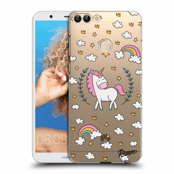 Obal pro Huawei P Smart - Unicorn star heaven