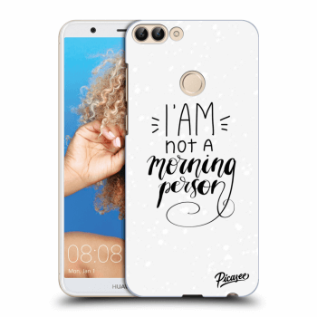 Obal pro Huawei P Smart - I am not a morning person